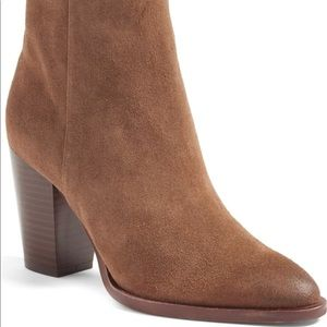 1758ace5864a1a Sam Edelman Shoes - Sam Edelman Blake Bootie Brown Suede US Size 5
